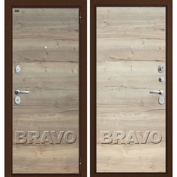 T3-300 Tobacco Oak/Natural Oak